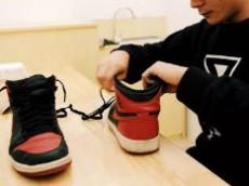 球鞋护理的冷门生意